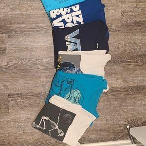 Boys Size 10-12 Medium Long Sleeve Shirts